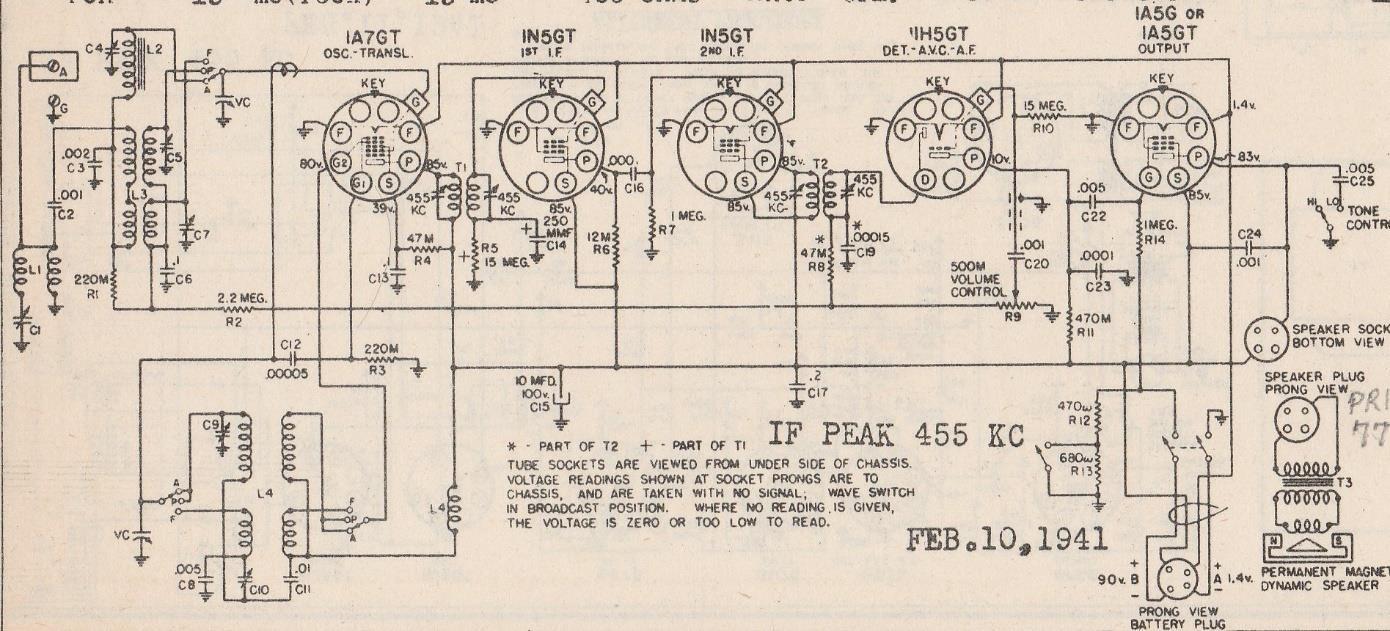 Here Are The Original Schematics - Wiring Diagram DB